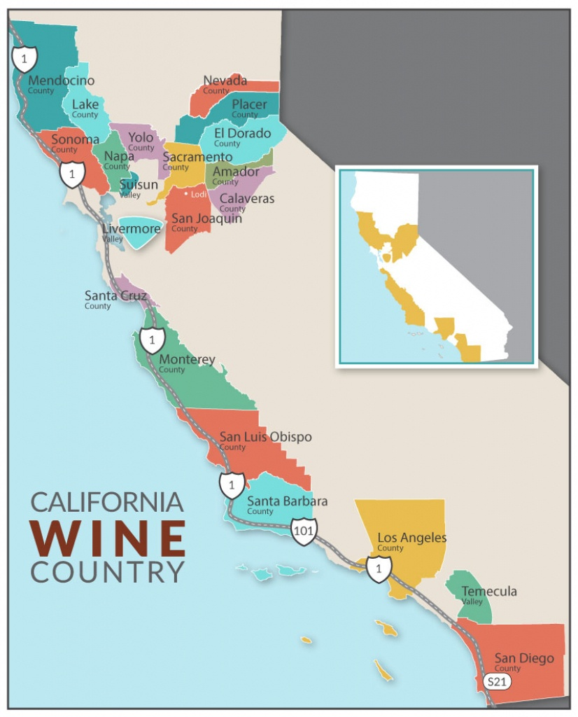 Dog-Friendly Lodging | Dog-Friendly Hikes | Dog-Friendly Parks | Dog - California Vineyards Map