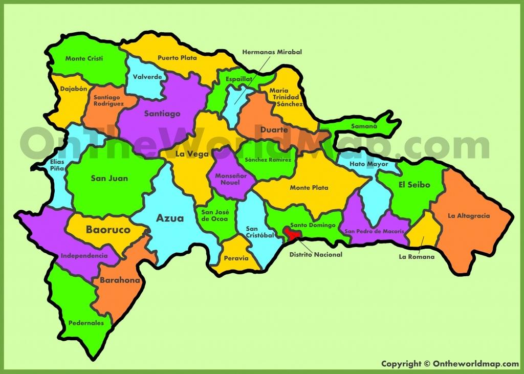 Dominican Republic Maps   Maps Of Dominican Republic - Free Printable Map Of Dominican Republic