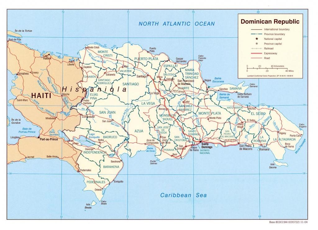 Dominican Republic Maps   Printable Maps Of Dominican Republic For - Free Printable Map Of Dominican Republic