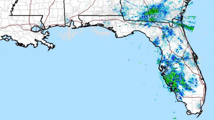 Florida Doppler Radar Map