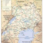 Download Free Uganda Maps   Printable Map Of Uganda