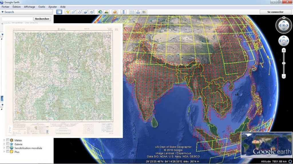 Download Topographic Maps From Google Earth - Youtube - Free Printable Satellite Maps