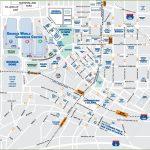 Downtown Atlanta Tourist Map - Printable Map Of Atlanta