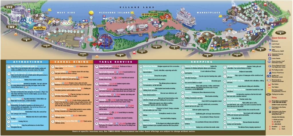 Downtown Disney Florida Map   Dehazelmuis - Map Of Downtown Disney Orlando Florida