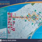 Downtown Madison Wisconsin Map Stock Photo: 185852640   Alamy   Printable Map Of Downtown Madison Wi