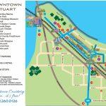 Downtown Stuart, Florida Map   Historic Downtown Stuarthistoric   Street Map Of Stuart Florida