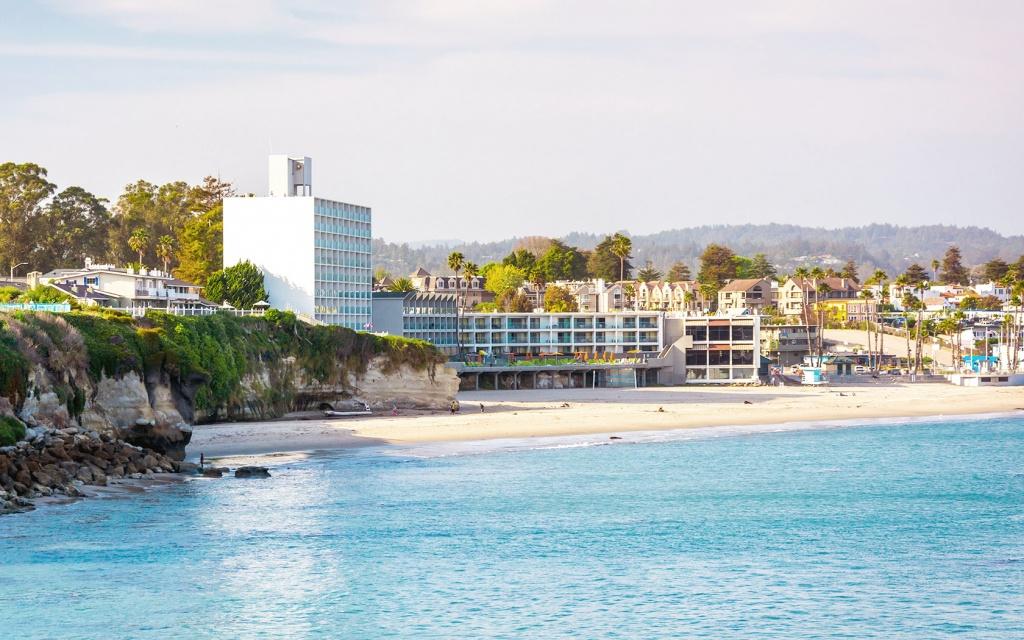 Dream Inn Santa Cruz   Official Site   Santa Cruz Hotels - Spg Hotels California Map