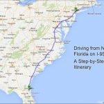 Driving From New York To Florida – A Step-By-Step Itinerary   Kids - Map Of I 95 From Florida To New York