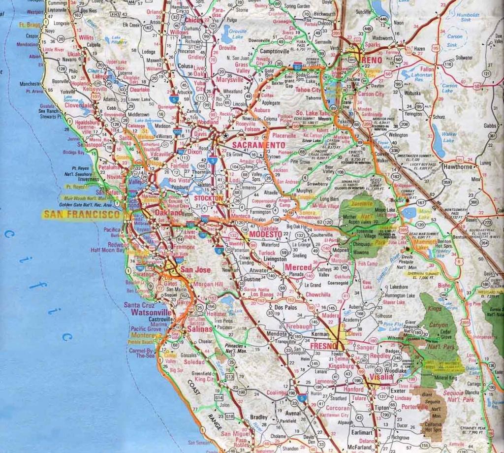 Driving Map Of California - Lgq - Road Map Of Southern California