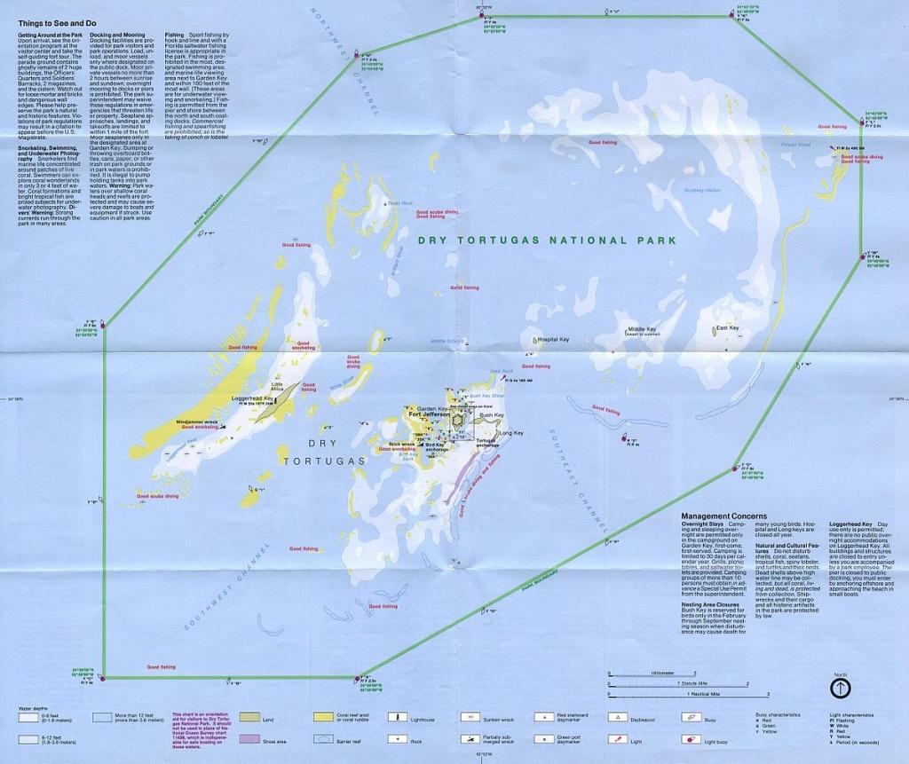 Dry Tortugas - Wikipedia - Florida Keys Spearfishing Map