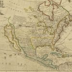 Early Map Of North America Depicting California As An Island   Historical Map Of California