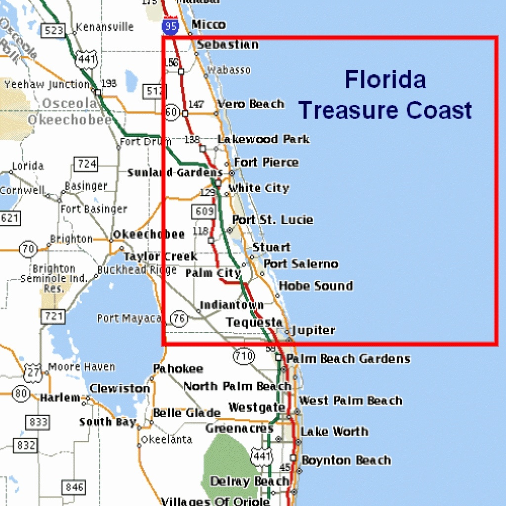 East Coast Beaches Map Lovely Florida East Coast Beaches Map Palm - Florida East Coast Beaches Map