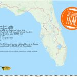 Eastern Continental Trail | Florida Hikes!   Tamiami Trail Florida Map