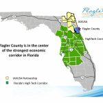 Economic Corridor Map   Flagler County   Florida High Tech Corridor Map