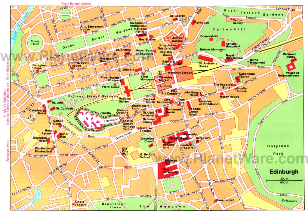Edinburgh Map - Detailed City And Metro Maps Of Edinburgh For - Printable Map Of Edinburgh