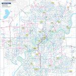 Edmonton Transport Map   Printable Map Of Edmonton