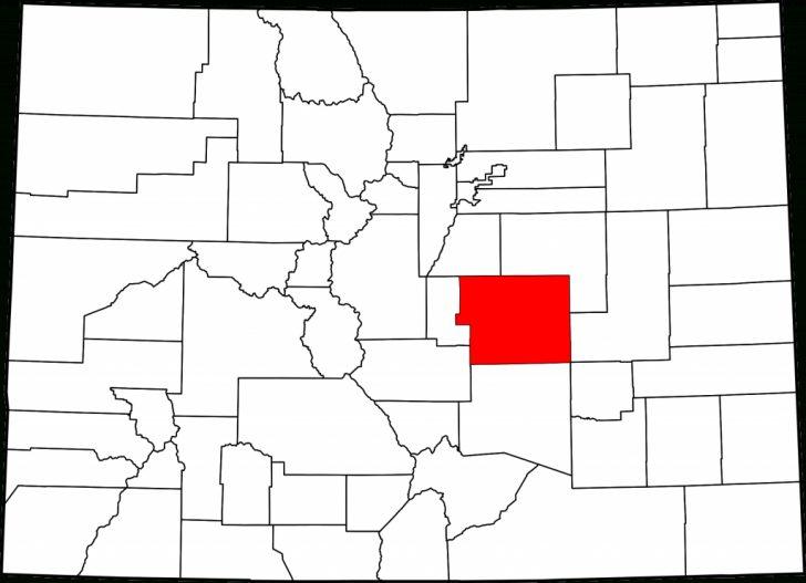 El Paso County Map Texas