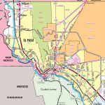 El Paso Road Map   Where Is El Paso Texas On The Map