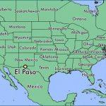 El Paso, Texas) Carte   Carte De El Paso, Texas (Texas   Usa)   Where Is El Paso Texas On The Map