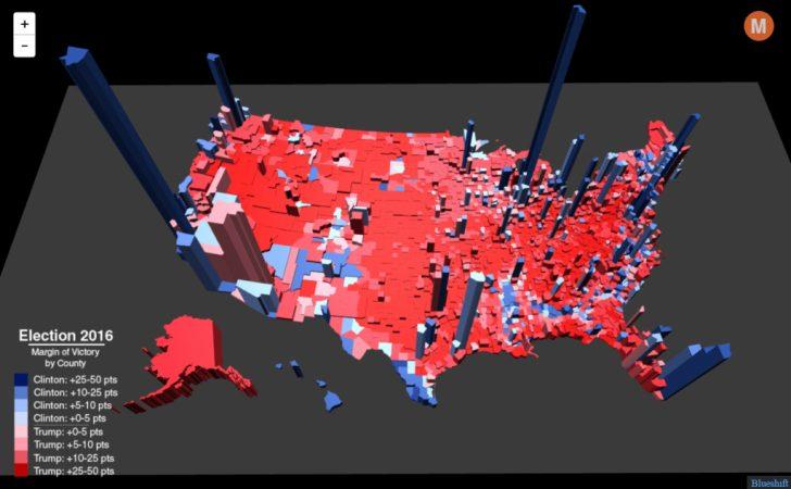 2016 Printable Electoral Map