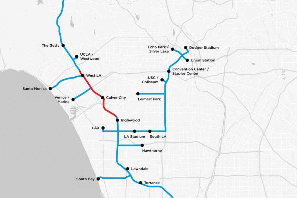 Elon Musk's Tunnels Below La Detailed In New Plans - Curbed La - Culver City California Map