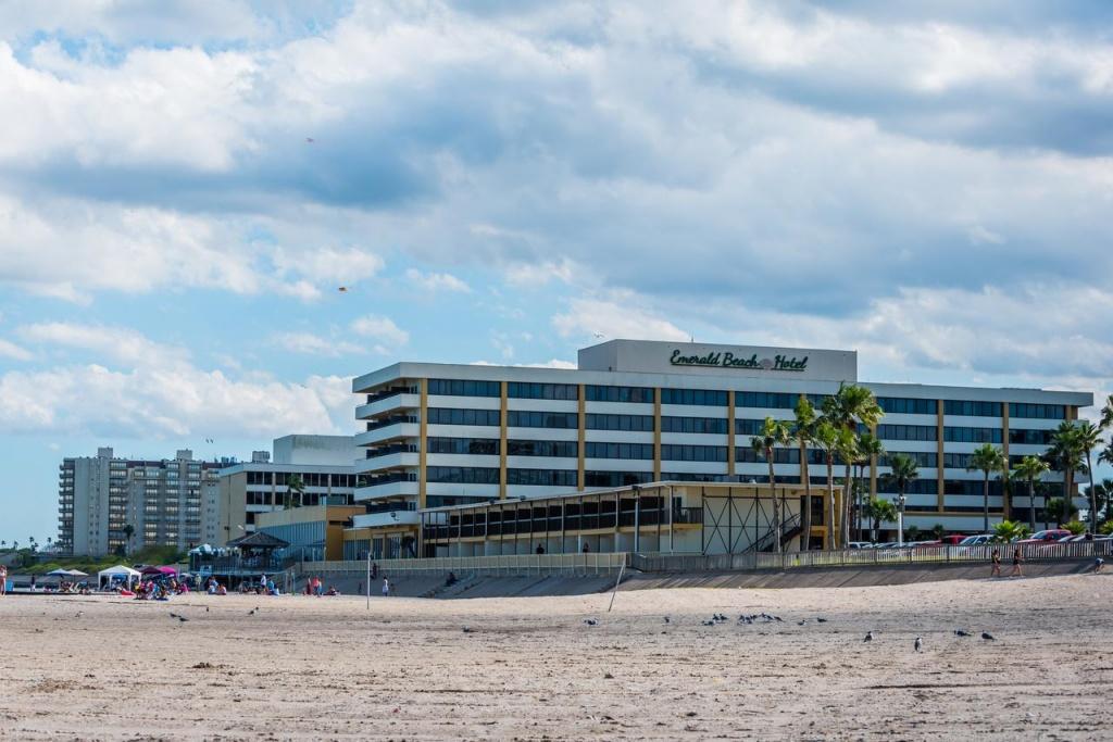 Emerald Beach Hotel, Corpus Christi, Tx - Booking - Map Of Hotels In Corpus Christi Texas