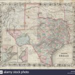 English: An Extremely Rare And Unusual Map Pocket Map Of Texas   Texas Forts Trail Map