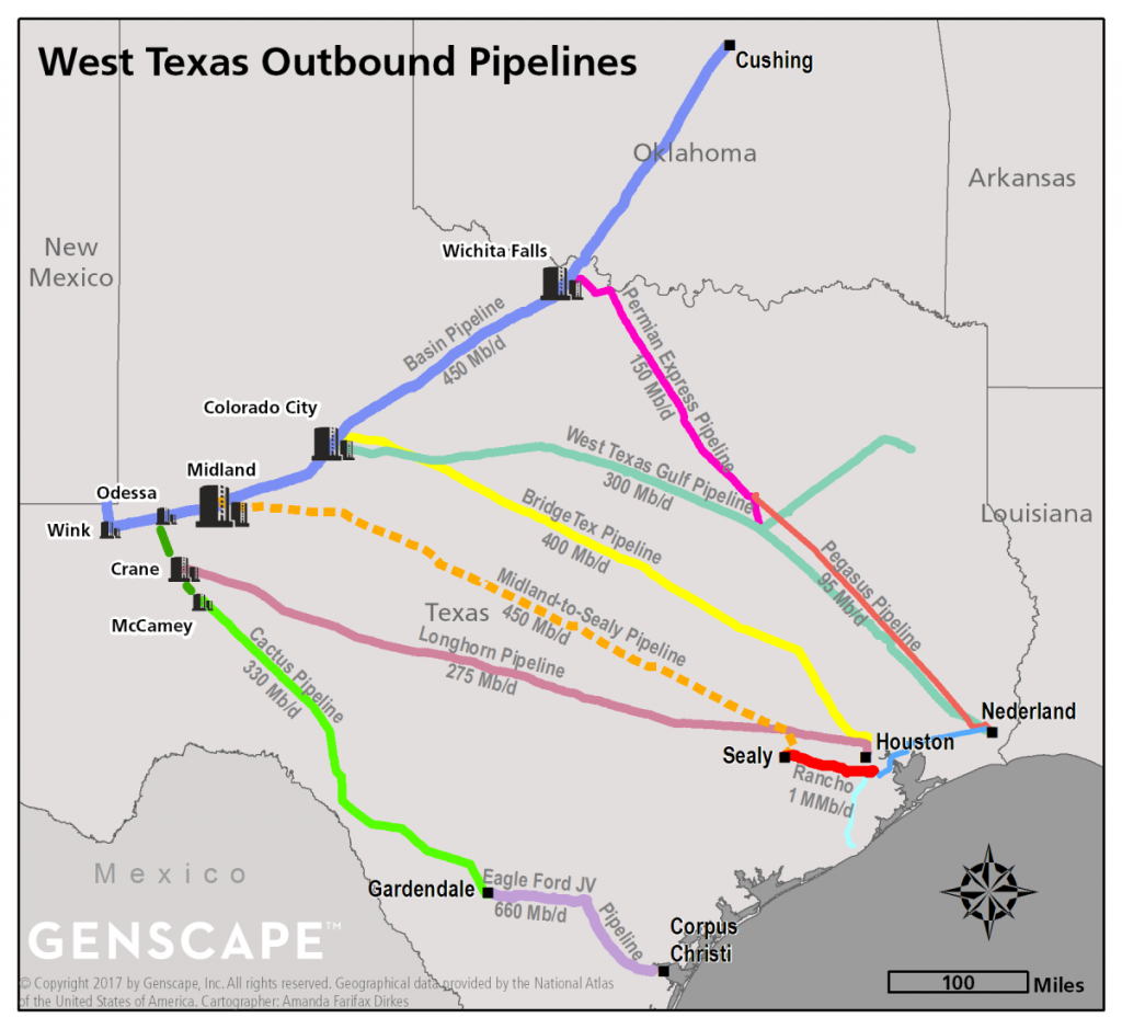 Enterprise Midland-To-Sealy Pipeline Progressing, But Could Face - Texas Pipeline Map