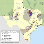 Enviros To Texas Lawmakers: What About The Fracking Kids?   Fracking In Texas Map