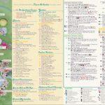 Epcot Flower & Garden Festival Map 2019 At Walt Disney World   Epcot Park Map Printable