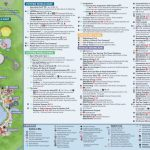 Epcot International Festival Of The Holidays Map 2018 At Walt Disney   Epcot Park Map Printable