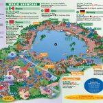 Epcot | Landscape | Epcot Map, Disney Map, Disney World Map   Epcot Park Map Printable