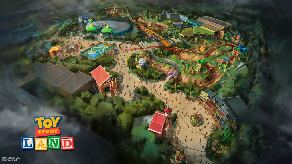 Everything (We Think) We Know About Toy Story Land – Orlando Parkstop - Toy Story Land Florida Map