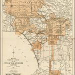 Expanding City Of Los Angeles, Circa 1918 | Maps | City Maps, Old   Old Maps Of Southern California