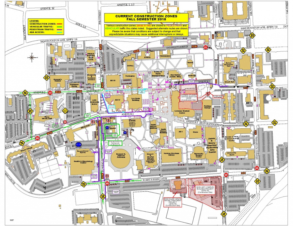 Facilities Management - Sam Houston State University - Texas State University Housing Map