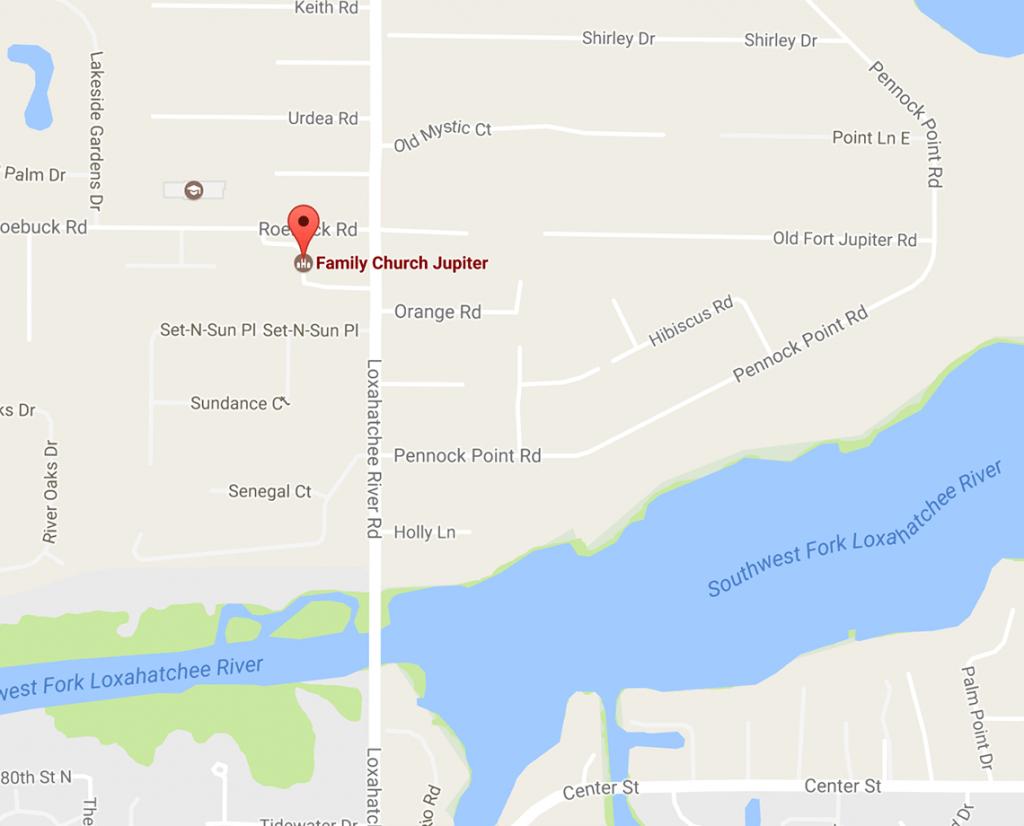 Family Church Jupiter Times And Directions | Family Church - Google Maps Jupiter Florida