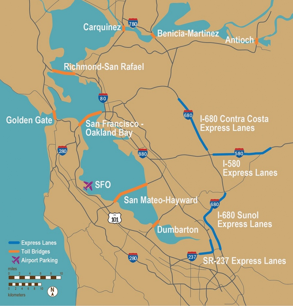 Fastrak - California Toll Roads Map