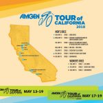 Featured Wallpapers   Amgen Tour Of California   Tour Of California 2018 Map