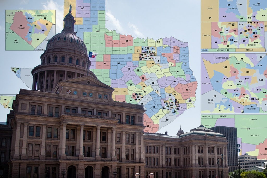 Federal Court Invalidates Part Of Texas Congressional Map | The - Texas Congressional Districts Map 2016
