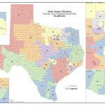 Federal Judges Propose Maps For Texas Legislative Races | The Texas   Texas Senate District 16 Map