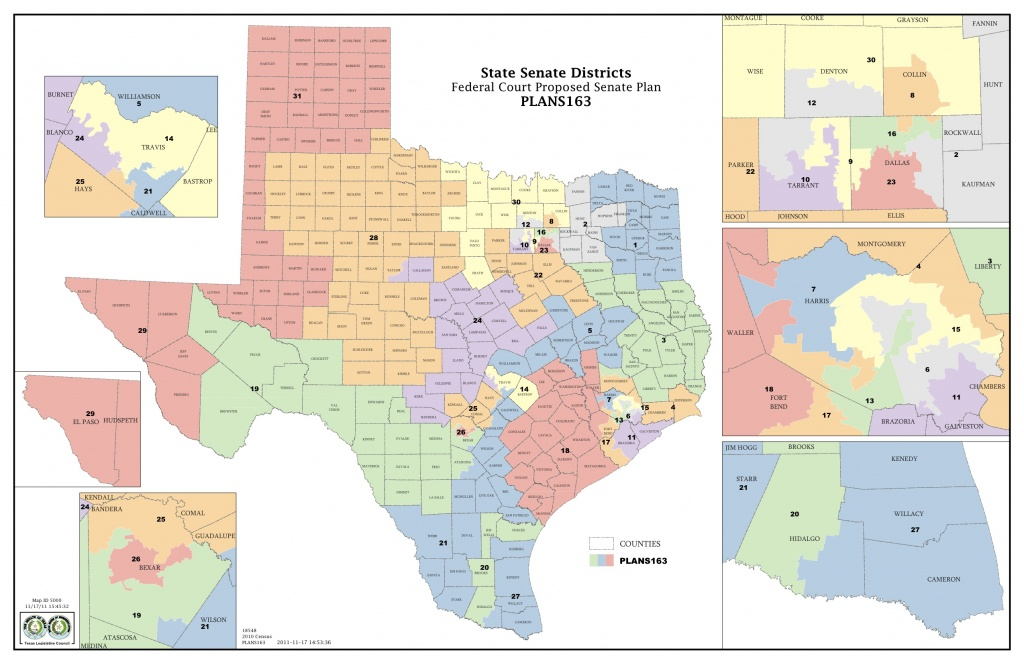 Federal Judges Propose Maps For Texas Legislative Races | The Texas - Texas Senate District 16 Map