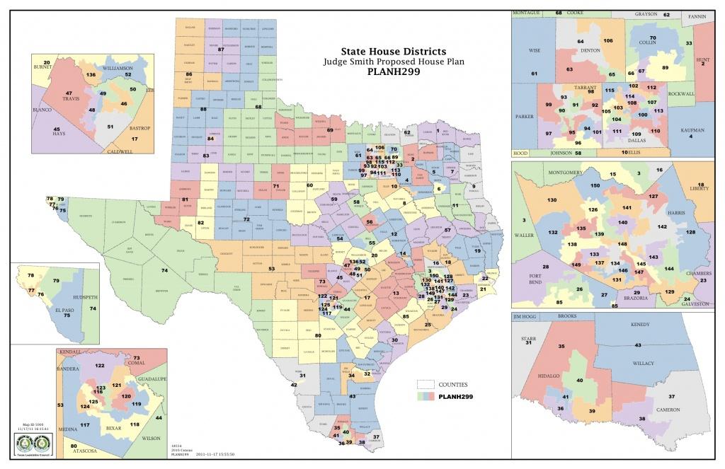 Federal Judges Propose Maps For Texas Legislative Races | The Texas - Texas State Senate Map
