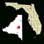 Fichier:bradford County Florida Incorporated And Unincorporated   Starke Florida Map