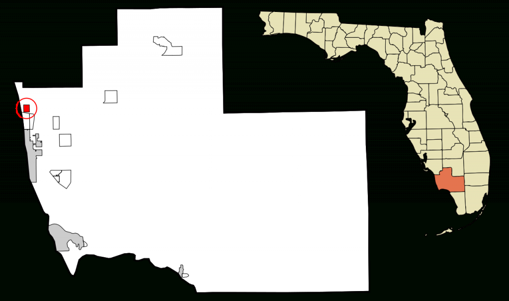 Fichier:collier County Florida Incorporated And Unincorporated Areas - Collier County Florida Map