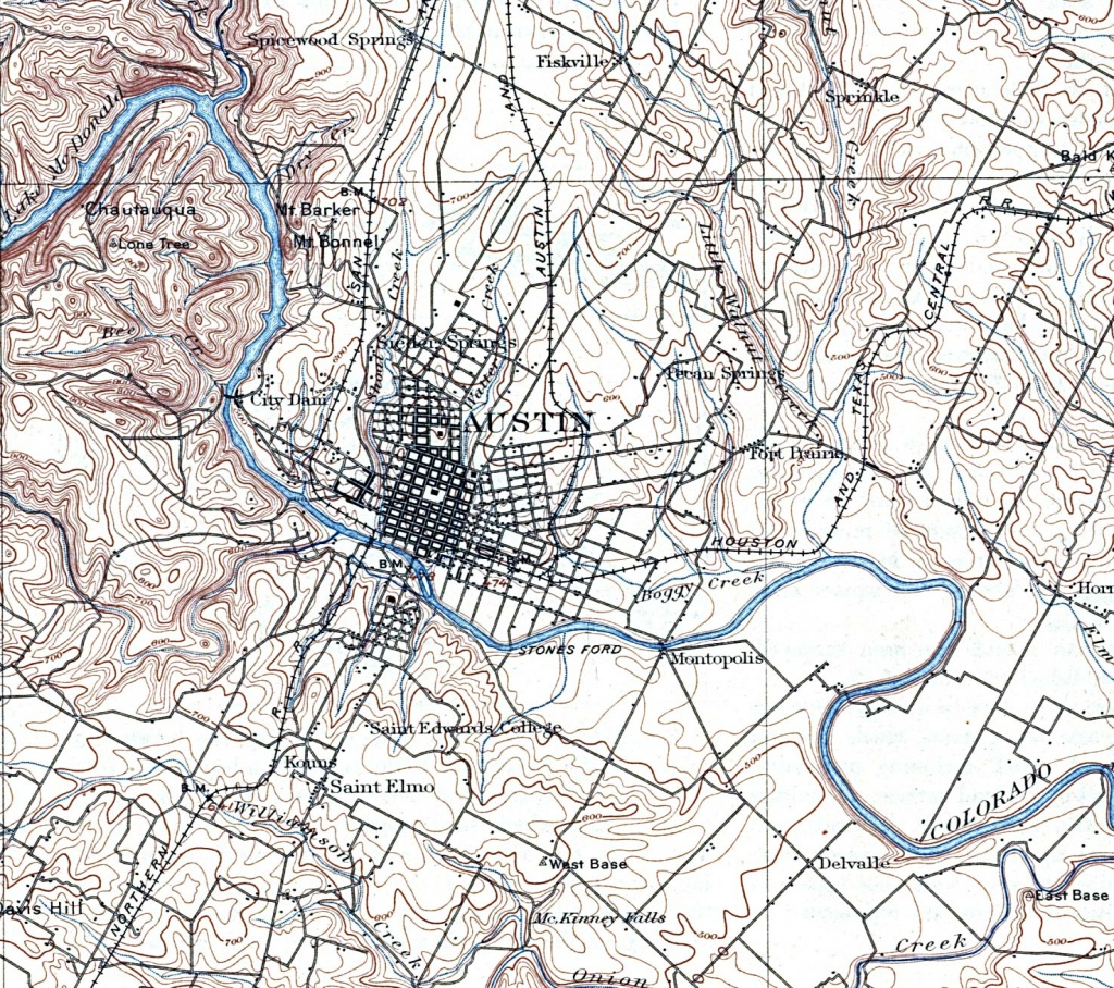 Fichier:greater Austin Tx 1921 Map — Wikipédia - Barker Texas Map