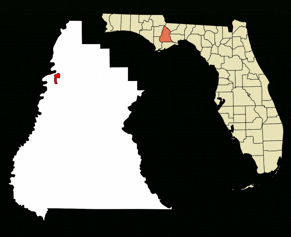 Fichier:liberty County Florida Incorporated And Unincorporated Areas - Bristol Florida Map