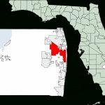 Fichier:map Of Florida Highlighting West Palm Beach.svg — Wikipédia   Palm Beach Florida Map