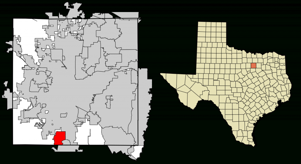 Fichier:tarrant County Texas Incorporated Areas Crowley Highlighted - Crowley Texas Map