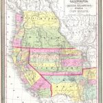 File:1853 Mitchell Map Of California, Oregon, Washington, Utah ^ New   California Oregon Washington Map