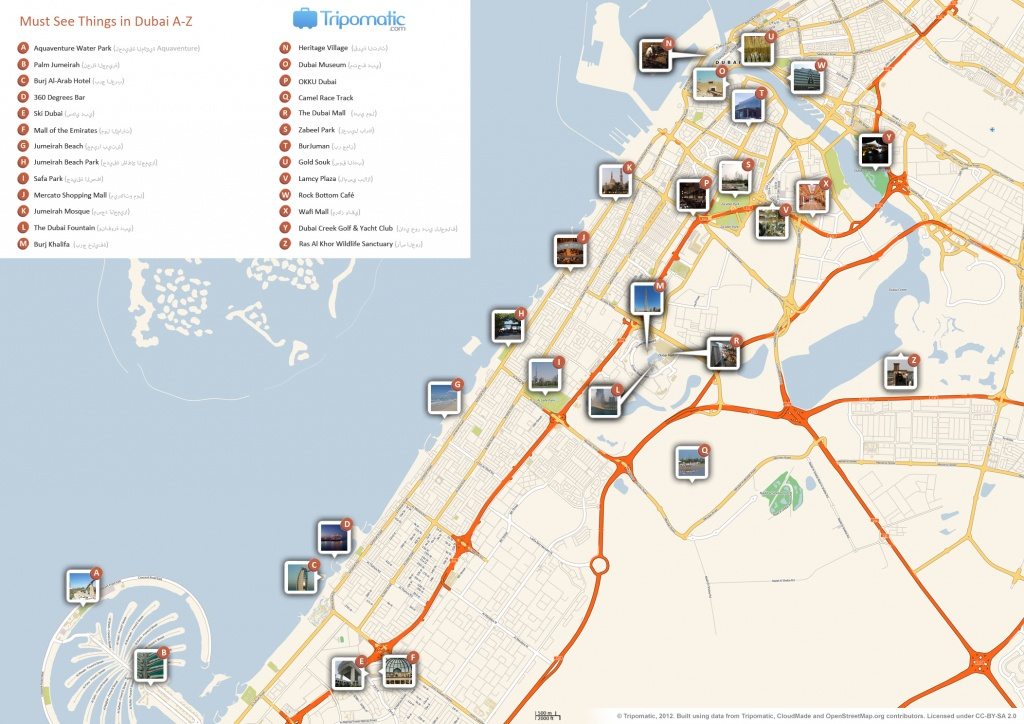 File:dubai Printable Tourist Attractions Map - Wikimedia Commons - Dubai Tourist Map Printable